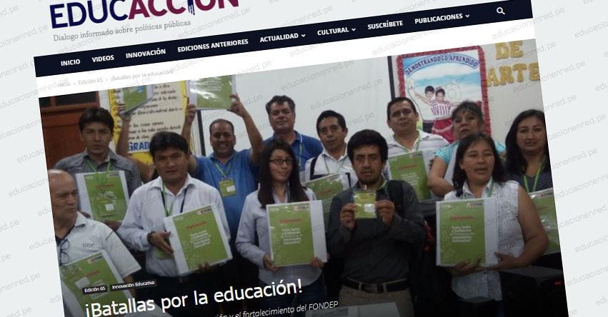 ¡Batallas por la educación! (Carlos Arámbulo Quiroz)