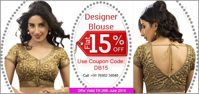 Designer Saree Blouse Designs Online Shopping In Discount Offer