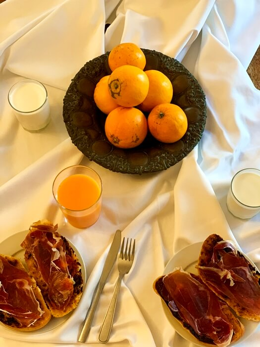 desayuno cortijo fontanilla