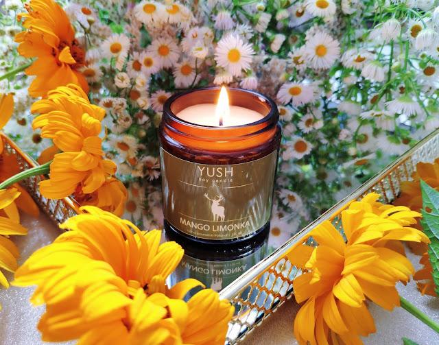 YUSH - Cudownie pachnące, naturalne świece sojowe