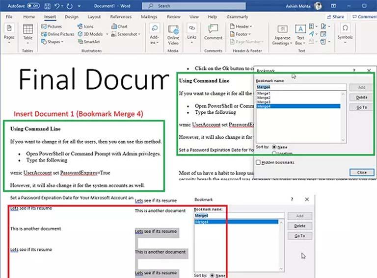 Cara Menggabungkan Beberapa Dokumen Microsoft Office Word