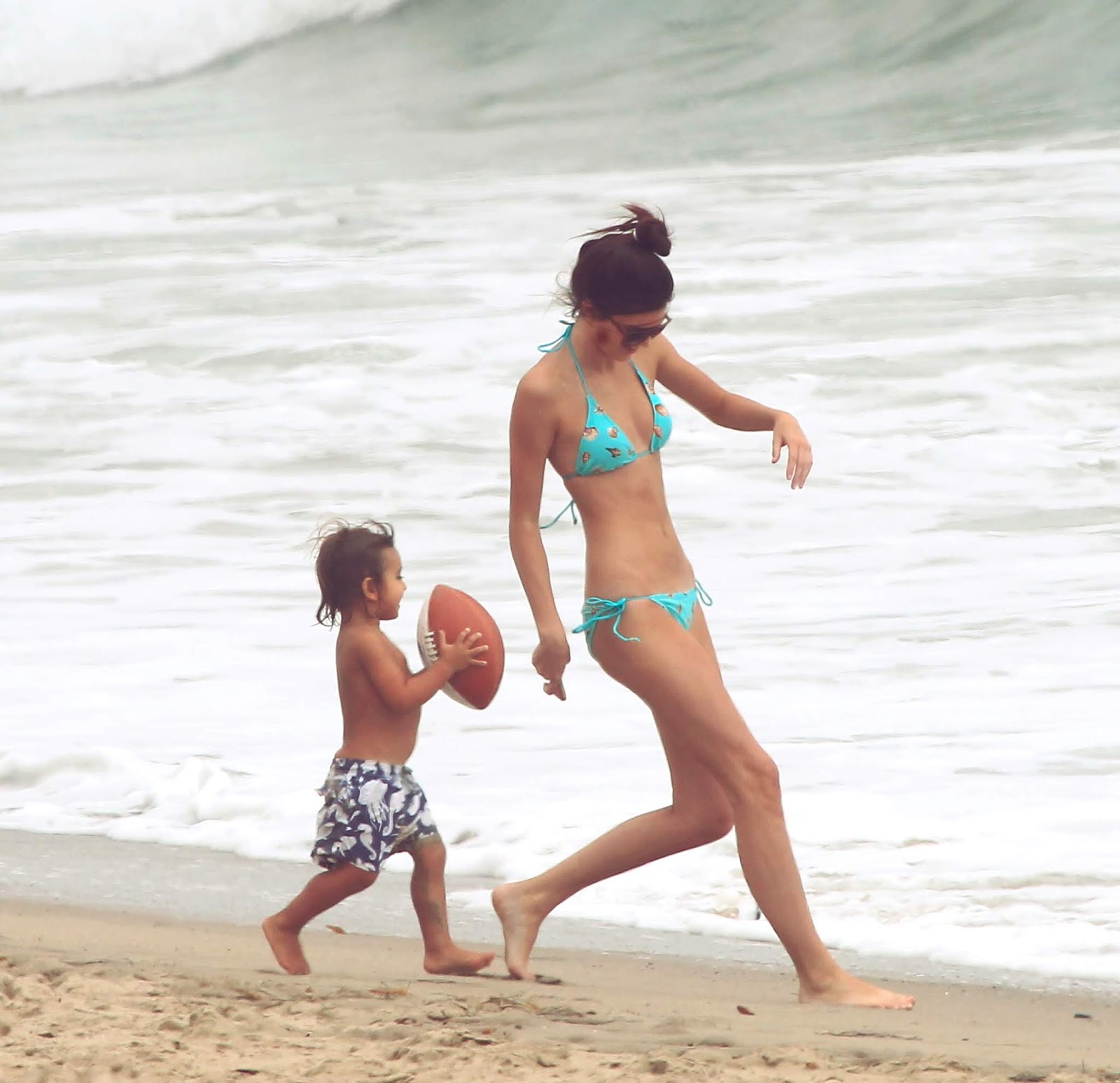 32 - At a Beach with friends in Malibu California on July 14, 2012