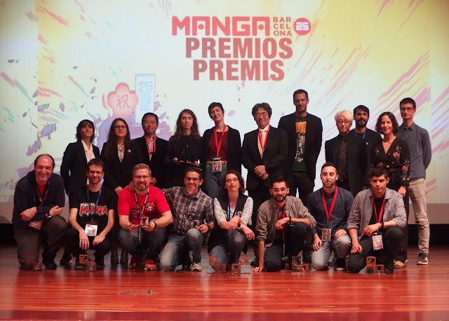 Palmarés: Las obras ganadoras del 25 Manga Barcelona