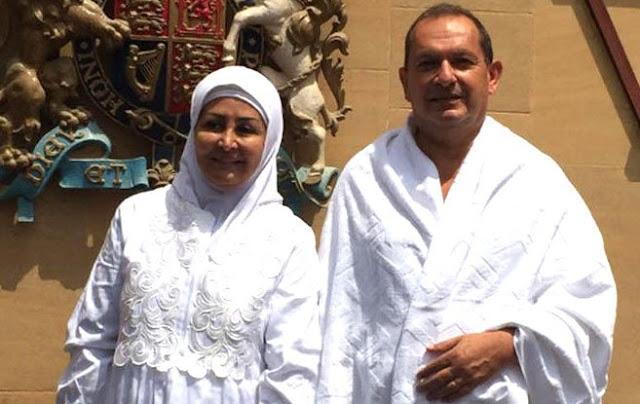 Simon Collis and His Wife