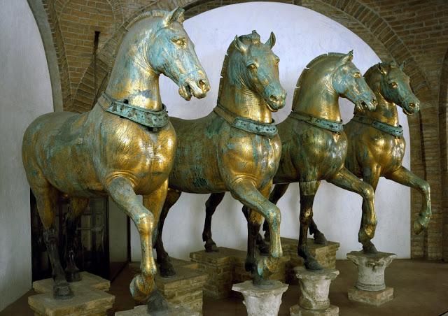 Τα Αρχαία Άλογα Της Χίου, Που Έγιναν Τα «Άλογα Του Αγίου Μάρκου»…
