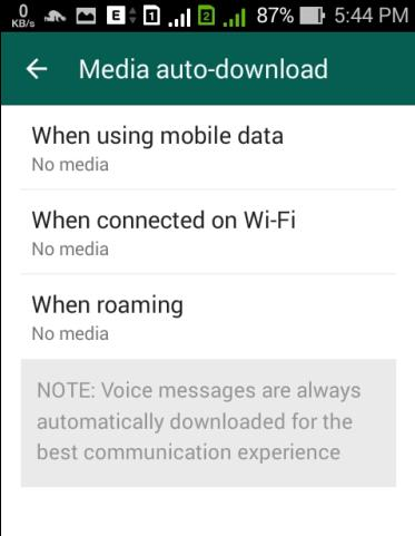 Tips Agar WhatsApp Tidak Menguras Memori Internal Dan Ram Android
