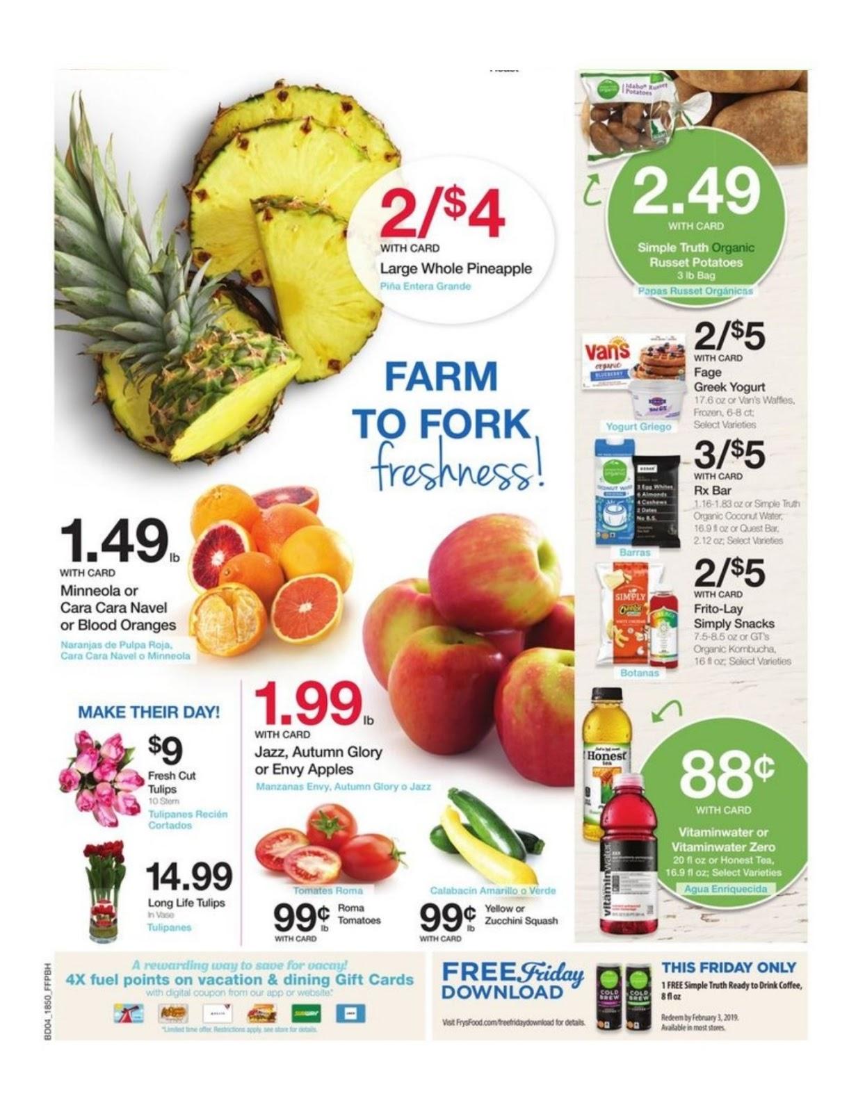 5270e6312809 Frys Weekly Ad January 16 – 22