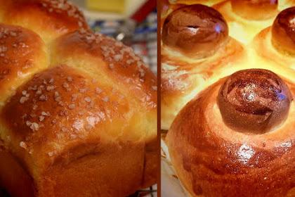 Extra-soft brioche or brioche bread