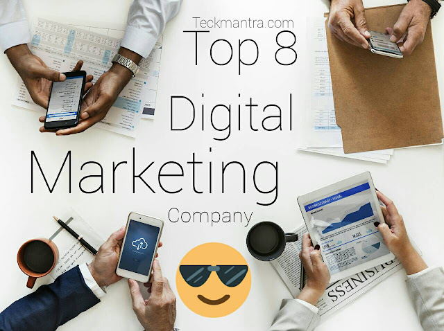 Top eight best digital marketing company in India