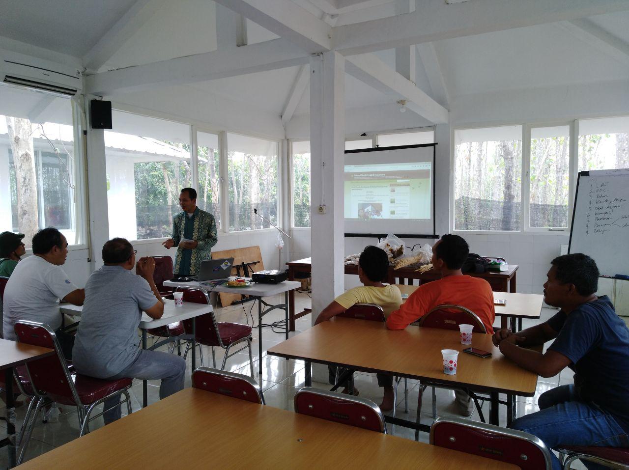 Kegiatan Presentasi Perbenihan Bersama Intan Aba Tani Di Kabupaten