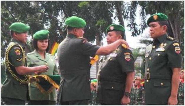 Sertijab Komandan Korem 031 Wirabima