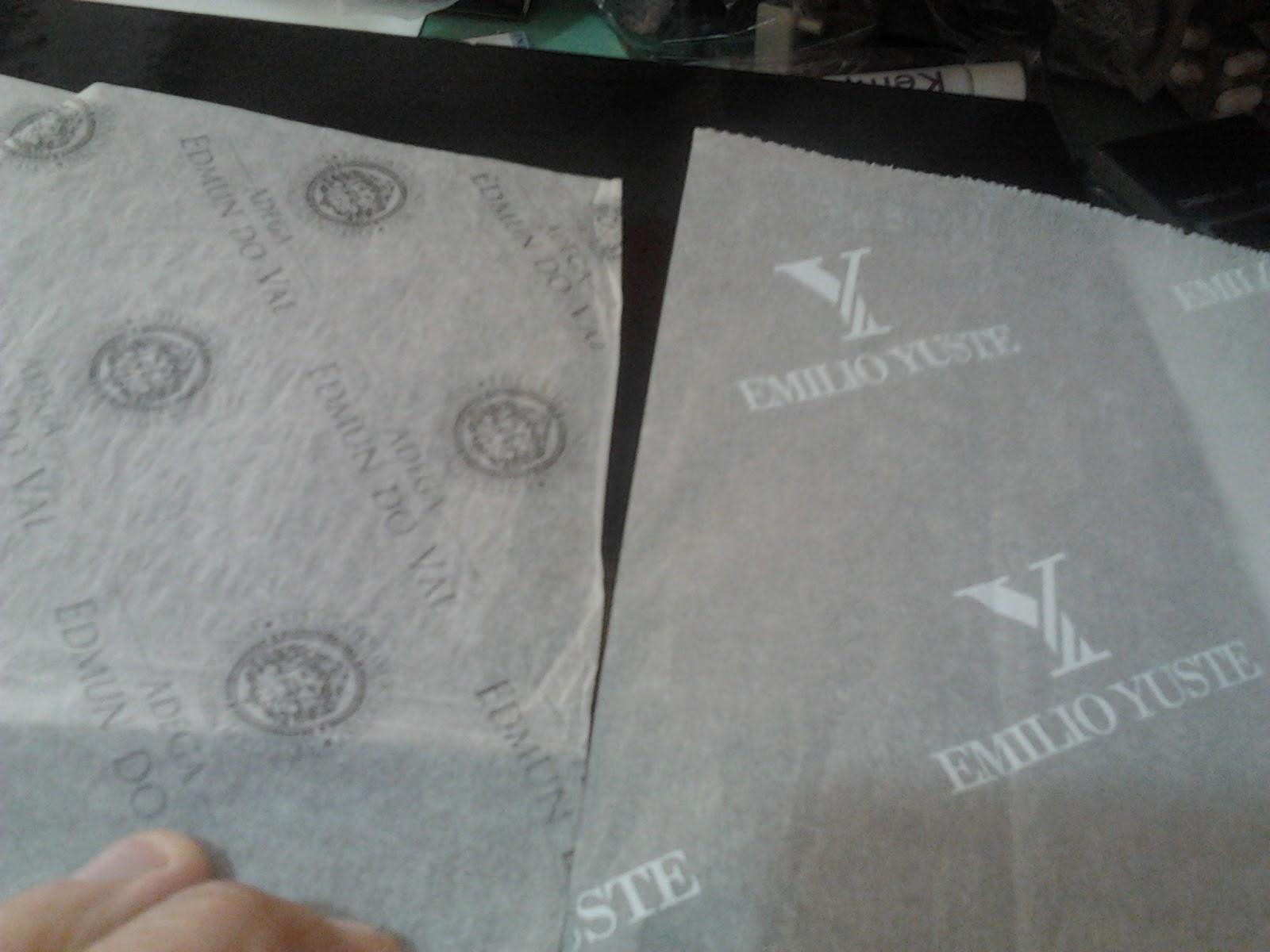 papel seda semitransparente impreso (alta calidad)