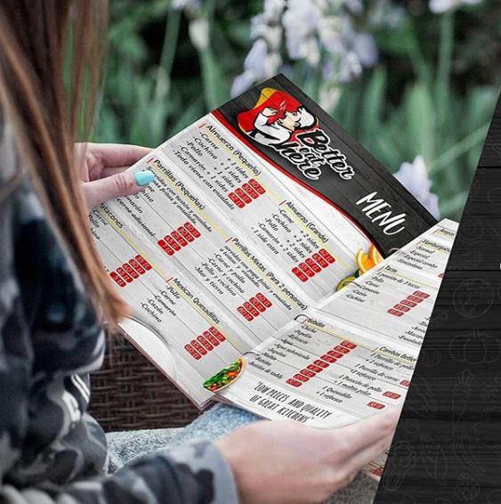 MARKETING DIGITAL: Para los restaurantes y venta de comida rápida tenemos el diseño del menú digital económicos.