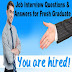 interview questions and answers pdf for freshers