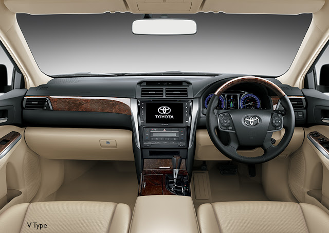Desain Interior All New Toyota Camry