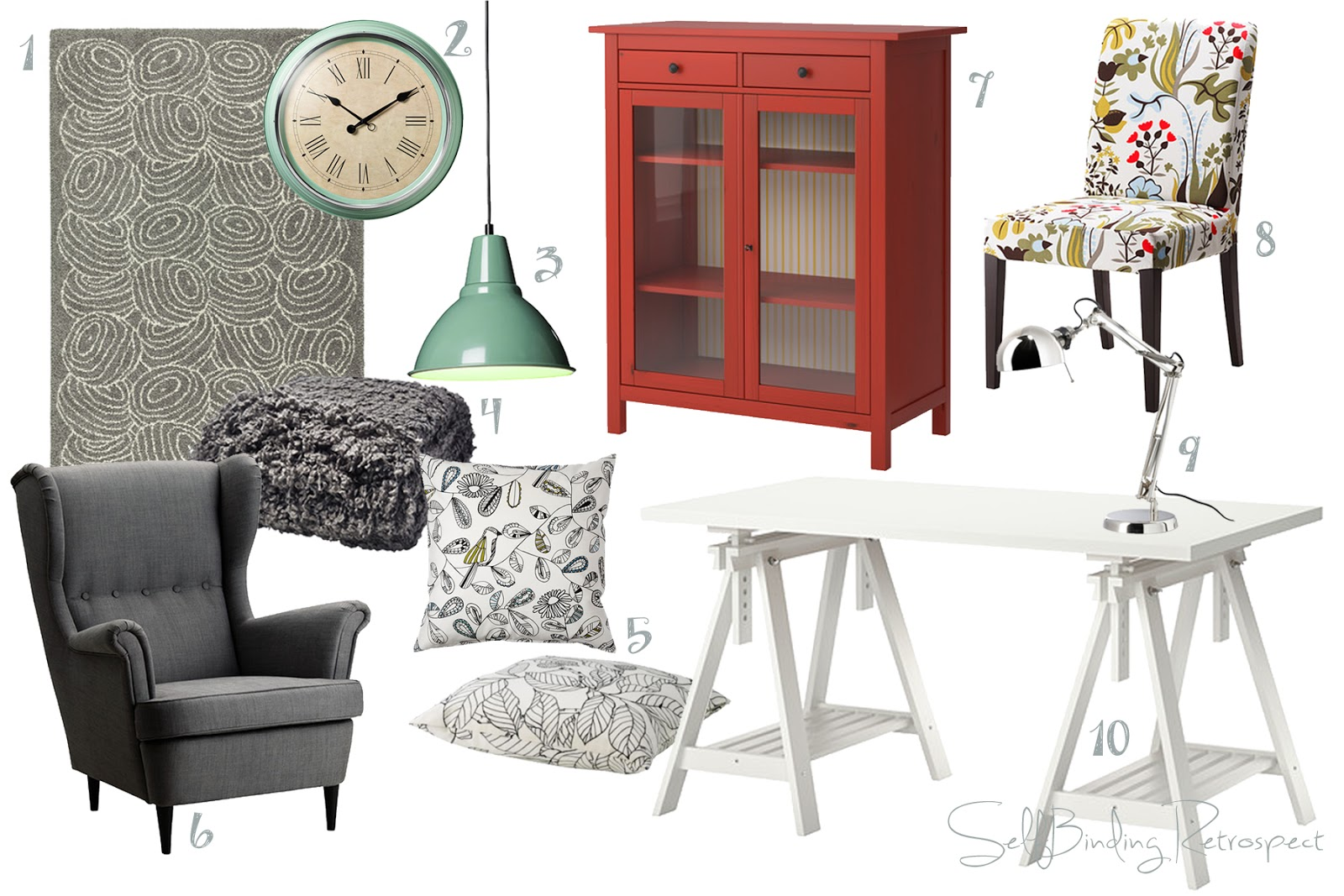 ikea writing room wish list