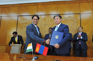 EXIM BANK, ON BEHALF OF THE GOVERNMENT OF INDIA, EXTENDS A LINE OF CREDIT OF USD 236 MILLION TO THE GOVERNMENT OF MONGOLIA