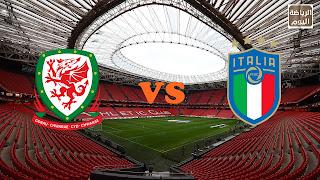 نتيجة المباراة منتخب إيطاليا و منتخب ويلز ( يورو 2020 ) .... 20/6/2021