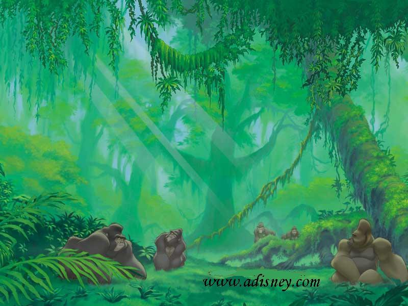 Fondo De Pantalla Selva: SGBlogosfera. María José Argüeso: FONDOS DISNEY: TARZÁN