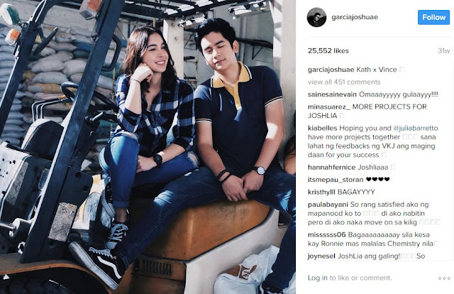Julia Barretto and Joshua Garcia are Seriously the Hottest Couple Right Now!
