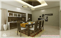 Kitchen And Dining Interiors - Kerala Home Design