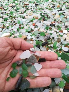Cristales rodados,  Praia dos cristais, Laxe, A Coruña