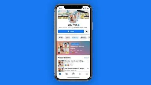 Facebook launches podcast platform next week