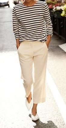 casual style obsession: top + pants