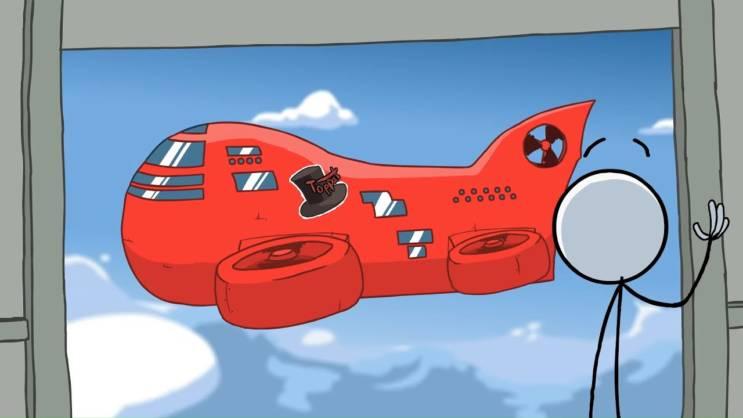 henry stickmin samolot