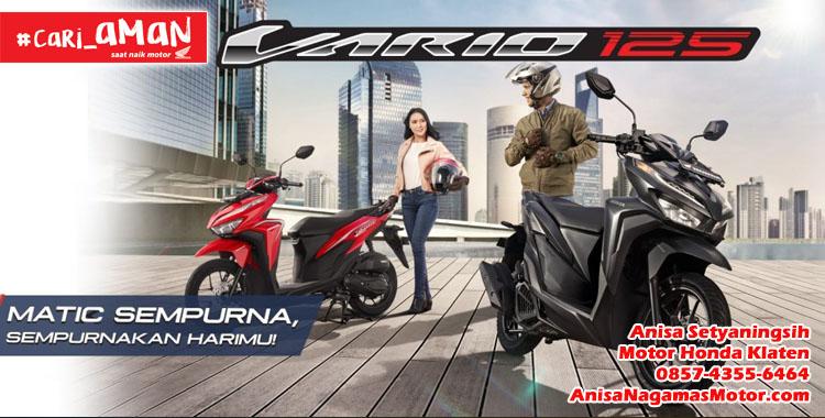 Harga Promo Kredit Honda Vario 125 Motor Honda Klaten