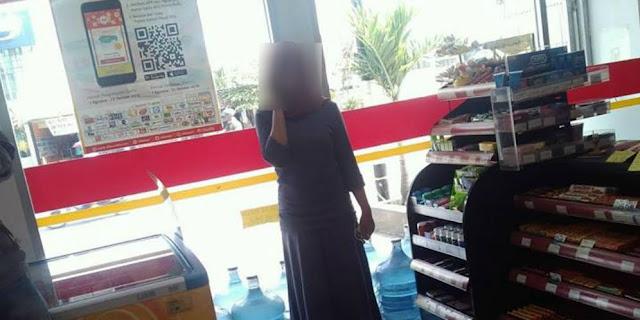 Perempuan Ini Histeris Saat Tertipu Isi Pulsa Hingga Rp1,3 Juta di Minimarket, Peringatan Buat Kita