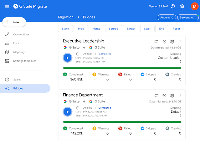Migrate users and data between Google Workspace environments more easily 1