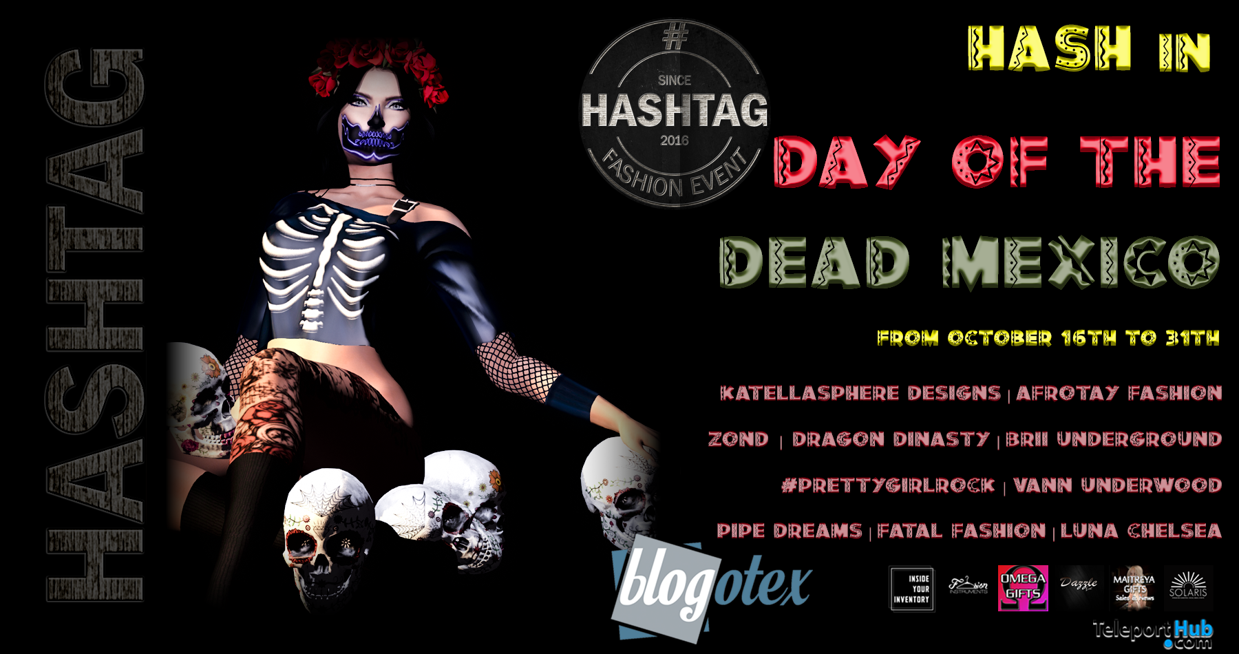 GALLERY HASH IN DAY OF THE DEAD MEXICO