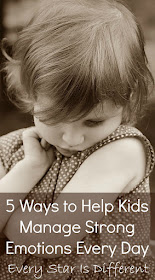 5 ways to help kids manage strong emotions every day.