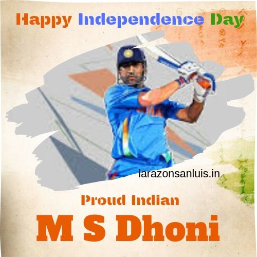15 august image dhoni independence day 2021