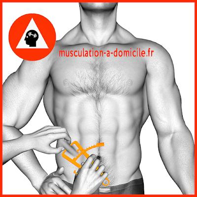 mesure bas du ventre homme pince à plis cutanés adipomètre musculation fitness