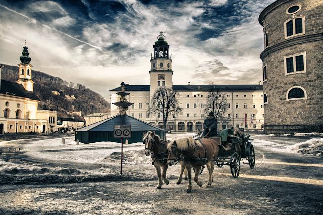 Mozartplatz-Salisburgo