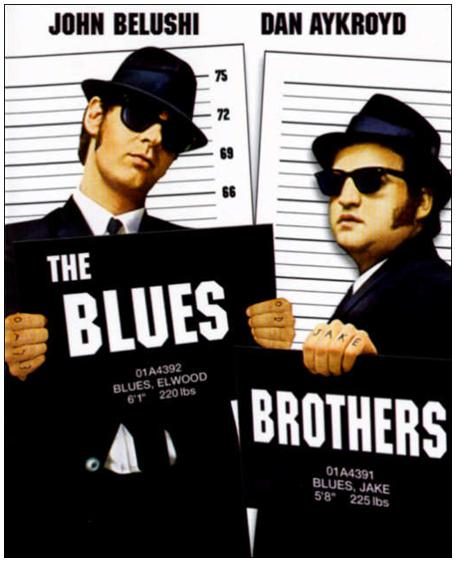 72a95f51f52 The Blues Brothers is a 1980 American musical comedy film directed by John  Landis. It stars John Belushi and Dan Aykroyd as