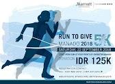 Run To Give – Manado • 2018