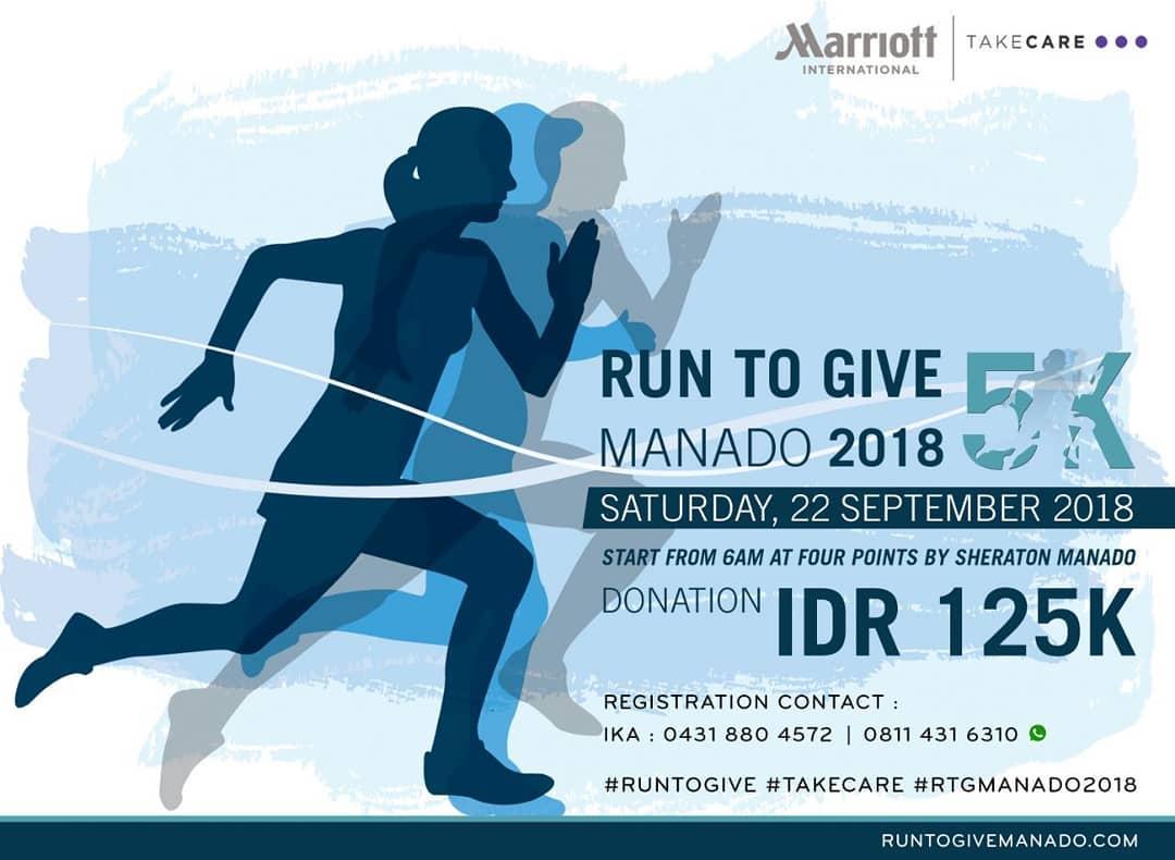 Run To Give - Manado • 2018