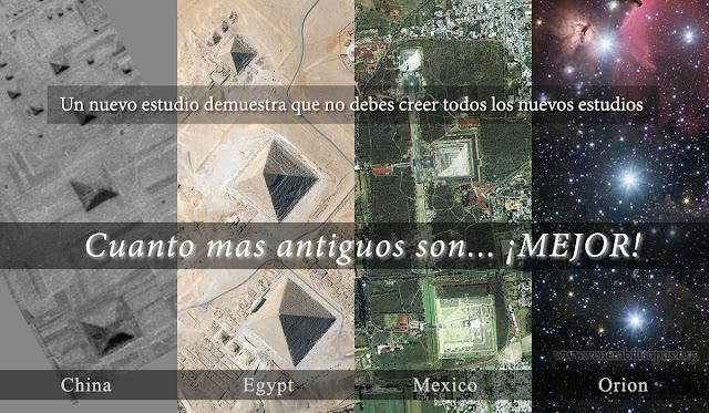 Pirámides y la Constelación De Orión