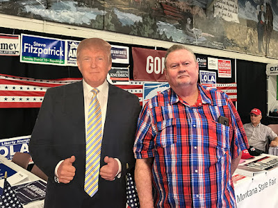 Paul Loved Posing with President Trump