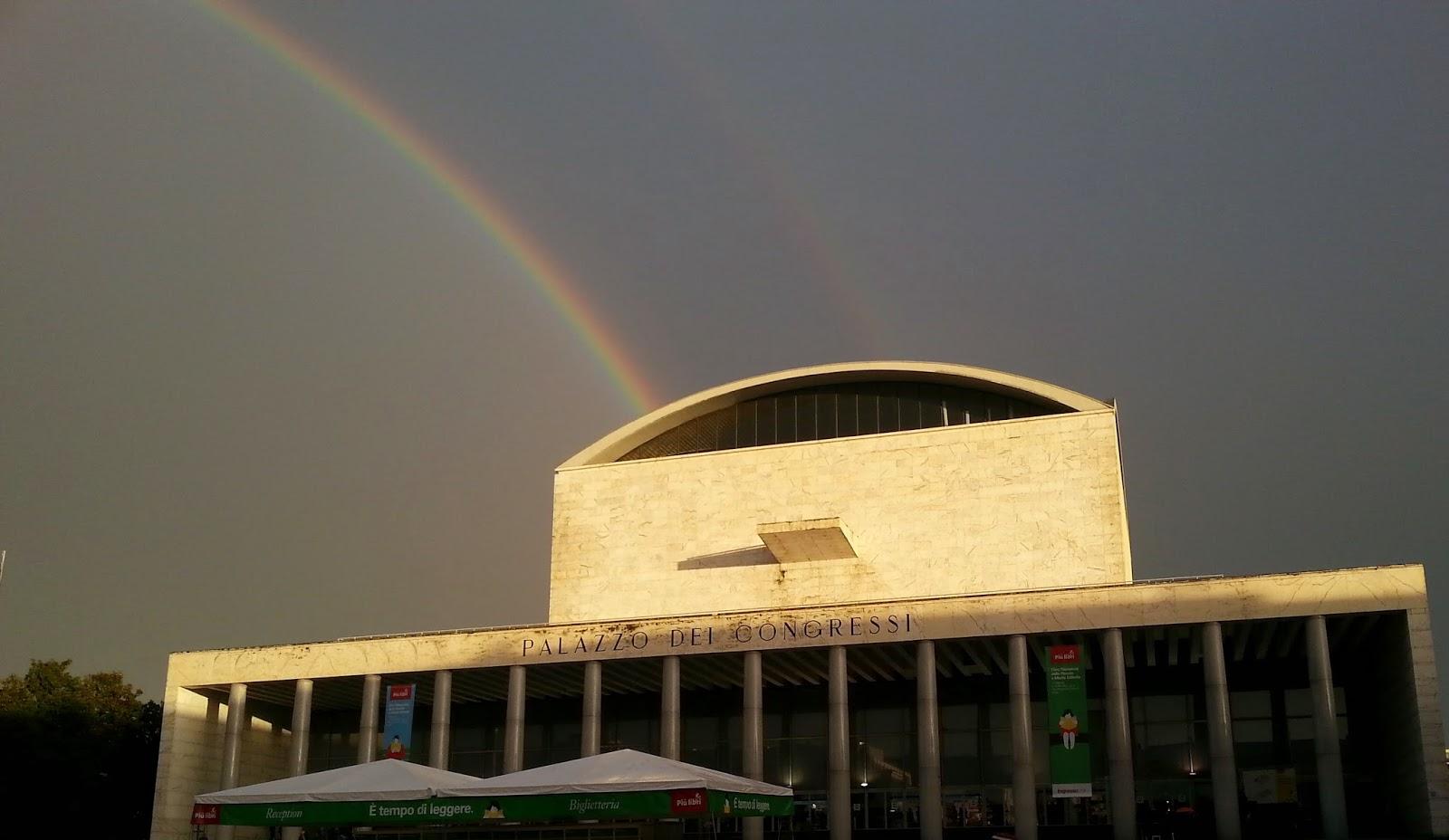 La quiete dopo la tempesta. Palazzo dei Congressi, Eur, Roma. fotosportnotizie.com.