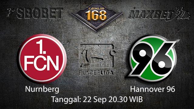 Prediksi Bola Jitu Nurnberg vs Hannover 22 September 2018 ( German Bundesliga )