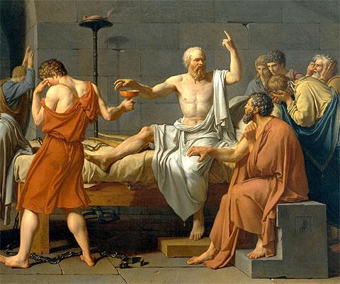 El juicio a Sócrates y su sentencia a muerte