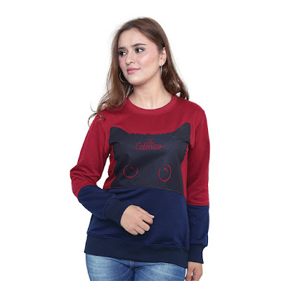 Sweater Wanita Catenzo PL 463