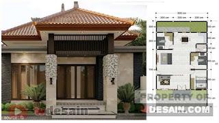 Desain rumah minimalis ukuran 9x15 1 lantai