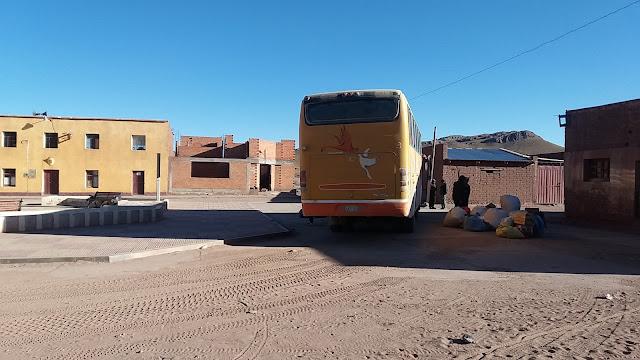 Busankunft in San Pablo