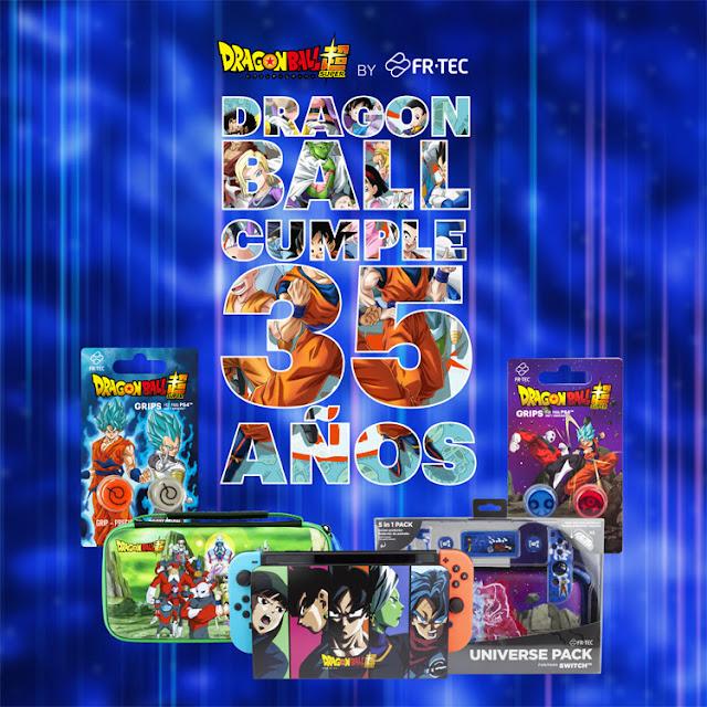 Dragon Ball celebra su 35 aniversario - productos para gamers de Blade.