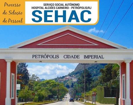 EDITAL SEHAC RJ Processo de Seleção de Pessoal (2018-2019)
